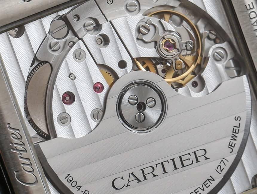 inside a cartier watch